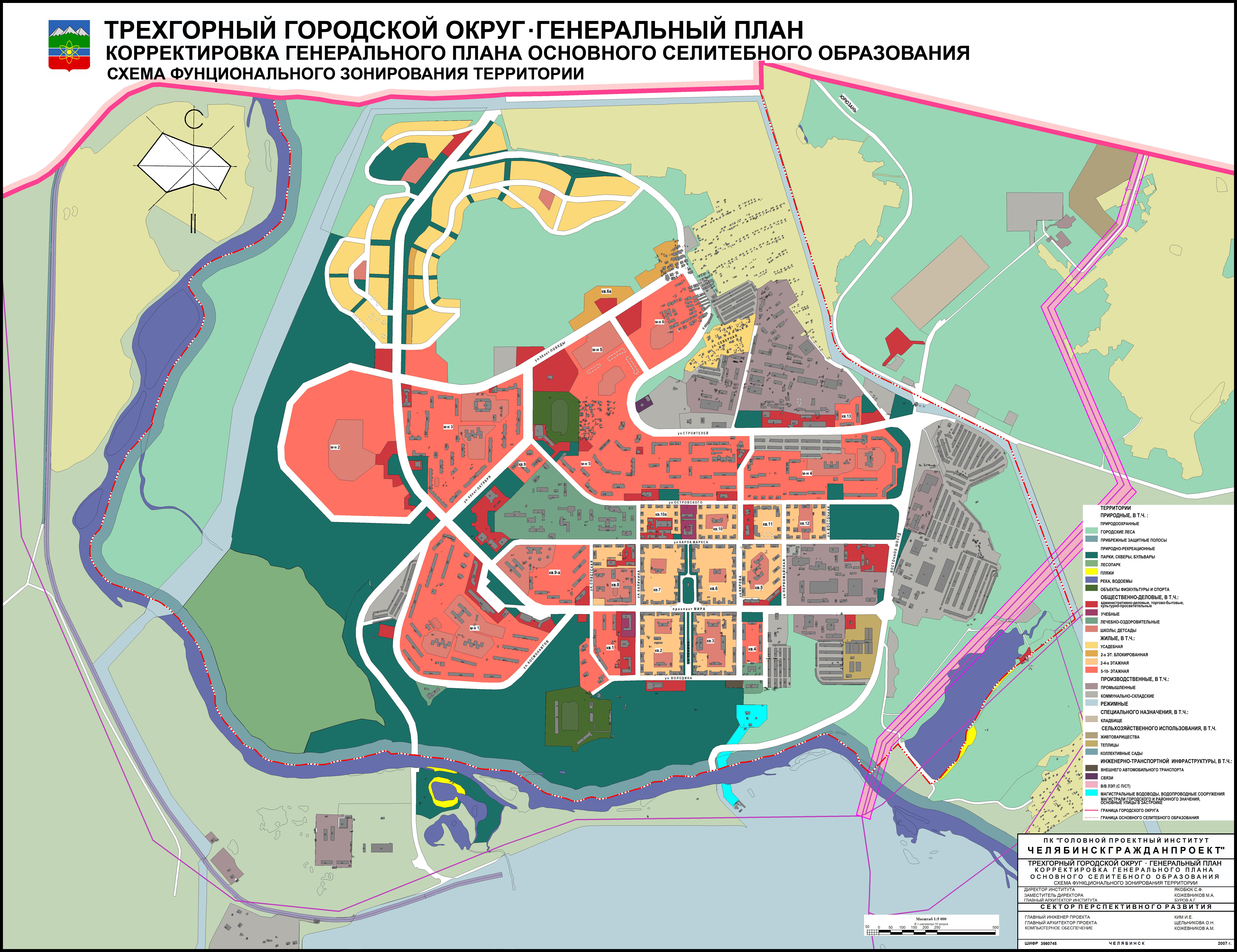 схема генерального плана спортивного сооружения